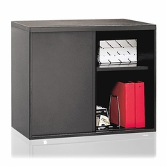 Lateral File Hutch - Charcoal - HON9317S