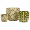Lattice Containers (Set of 3) - IMAX - 35233-3
