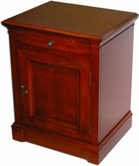 Lauderdale End Table Humidor in Cherry - HUM-LDCAB