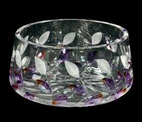Lavender Leaf Bowl - Dale Tiffany - GA80043