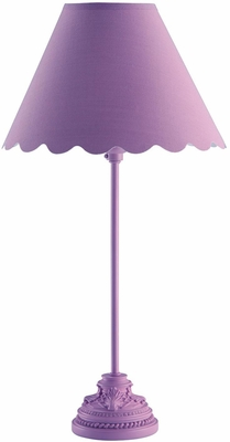 Lavender Table Lamp - Set of 2 - 901474