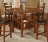 Lavista Counter Height Table in Dark Oak - Coaster - 102158