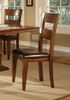 Lavista Dining Chair (Set of 2) in Dark Oak - Coaster - 102152-SET