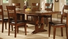 Lavista Dining Table in Dark Oak - Coaster - 102151
