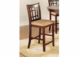 "Lavon 24"" Counter Stool in Cherry - Set of 2 - 100889N"