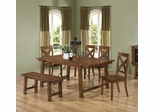 Lawson 6 Piece Dining Table, Chair and Bench Set - 103991