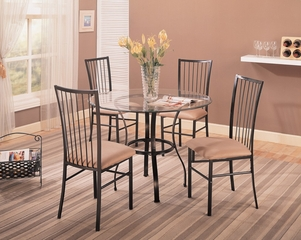 Layne 5-Piece Dining Set - Coaster - 120566