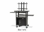 LCD Cart - Black - BLT27530