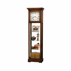 Le Rose Floor Clock in Hampton Cherry - Howard Miller