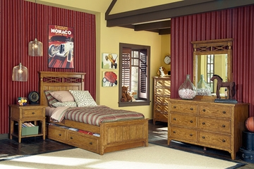 Lea Americana 5PC Twin Bedroom Set - 237-930R