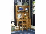 Lea Americana Desk with Hutch and Chair - 237-341