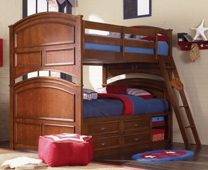 Lea Deer Run Bedroom Full Over Full Bunk Bed - Lea American Drew - DRSET6