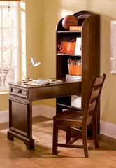 Lea Elite Covington Bookcase Desk with Chair - 145-341
