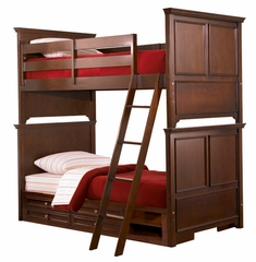 Lea Elite Covington Twin Over Twin Bunk Bed Bedroom Set - 145-975R