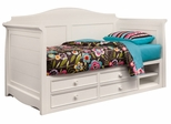 Lea Elite Hannah Twin Daybed in White - 147-989R