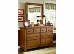 Lea Elite Logan County 6 Drawer Dresser - 139-261