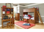 Lea Elite Logan County Twin Bunk Bed Bedroom Set - 139-976R