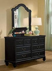 Lea Elite Retreat Black 6 Drawer Dresser - 148-261
