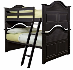 Lea Elite Retreat Black Full Bunk Bed - 148-986R