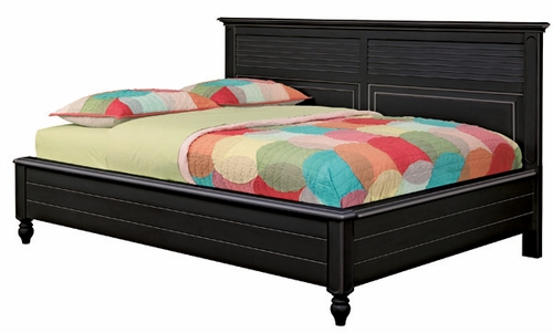 Lea Elite Retreat Black Full Sideways Bed - 148-924
