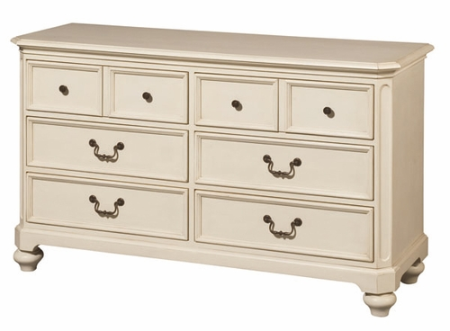 Lea Elite Retreat White 6 Drawer Dresser - 149-261