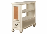 Lea Elite Retreat White Bookcase Nightstand - 149-140