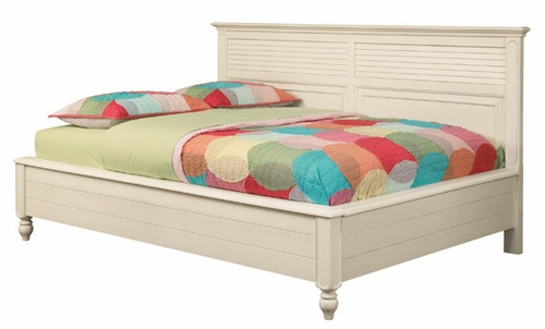 Lea Elite Retreat White Full Sideways Bed - 149-924