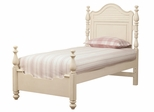Lea Elite Retreat White Twin Panel Bed - 149-930R