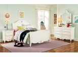 Lea Elite Vintage Boutique Full Sleigh Bed Bedroom Set - 134-948R