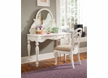 Lea Elite Vintage Boutique Vanity Desk Set with Chair - 134-341