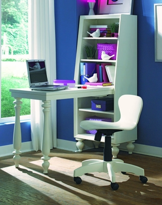 Lea Elite Zoe Bookcase Desk - 070-341