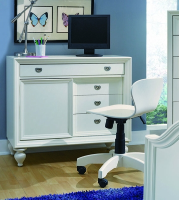 Lea Elite Zoe Desk with Sliding Door - 070-345