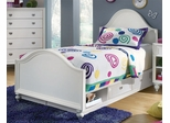 Lea Elite Zoe Twin Panel Bed in White - 070-932R