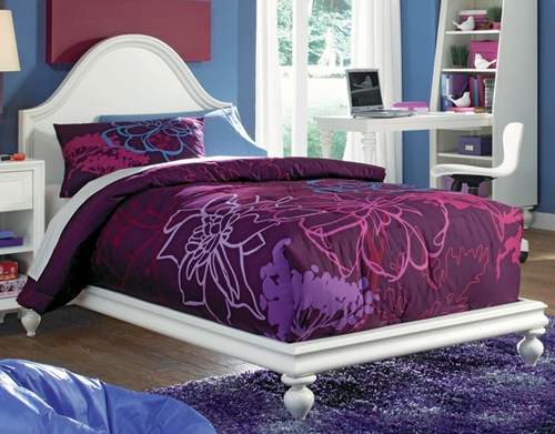 Lea Elite Zoe Twin Platform Bed - 070-923R