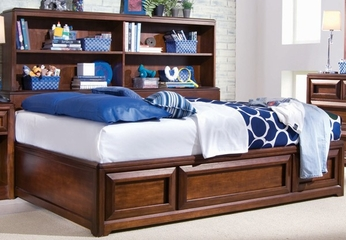 Lea Expressions Full Bed with Bookcase - Lea American Drew - 856-900-924
