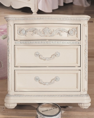 Lea Jessica McClintock Bedroom 3 Drawer Nightstand - Lea American Drew - 203-431