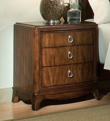 Lea Rhapsody Bedroom 3 Drawer Nightstand - Lea American Drew - 846-431