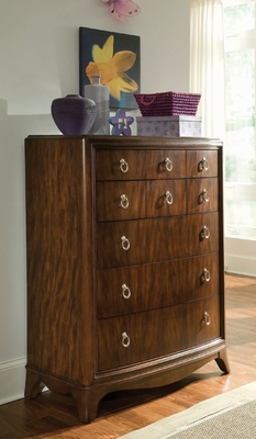 Lea Rhapsody Bedroom Drawer Chest in Cherry - Lea American Drew - 846-151