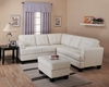 Leather Sofa Set 2 - 2 Piece in Cream Leather - Coaster