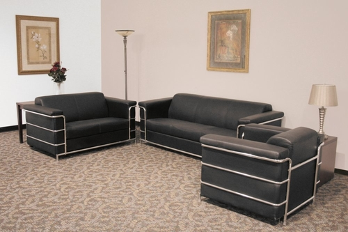 Leather Sofa Set - Cambridge - LC-SSET