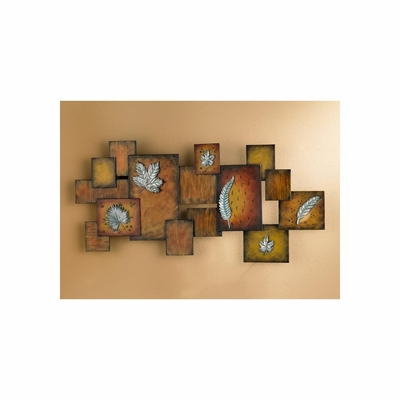 Leaves / Abstract Wall Art Panel - Holly and Martin