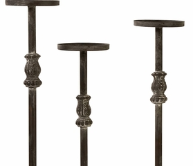 Lefroy Tall Five Pillar Candle Stand - IMAX - 56327