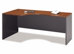 Left Corner Section- Series C Auburn Maple Collection - Bush Office Furniture - WC48532
