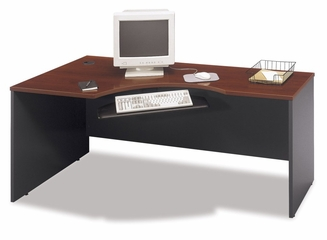 Left Corner Section- Series C Hansen Cherry Collection - Bush Office Furniture - WC24432