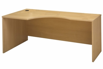 Left Corner Section- Series C Light Oak Collection - Bush Office Furniture - WC60332