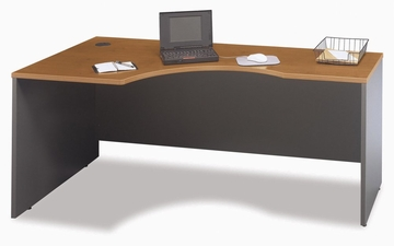 Left Corner Section- Series C Natural Cherry Collection - Bush Office Furniture - WC72432