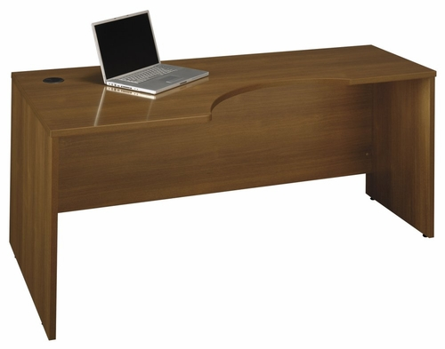 Left Corner Section- Series C Warm Oak Collection - Bush Office Furniture - WC67532