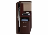 Left Storage Tower - Quantum Harvest Cherry Collection - Bush Office Furniture - QT2836CSK