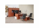 Legacy Laminate Executive Office Furniture / Home Office Furniture Collection