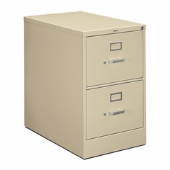 Legal Size File Cabinet - Putty - HON212CPL